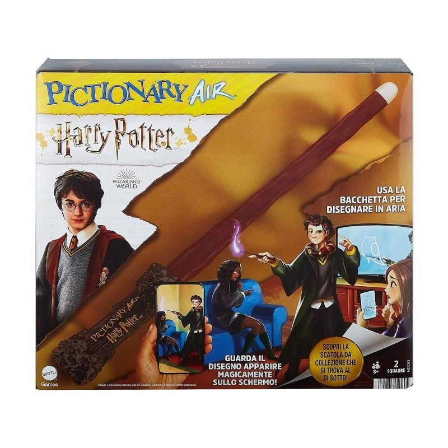Pictionary Air Harry Potter Mattel - 2