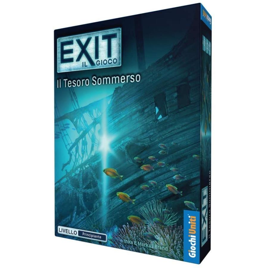 Exit Gioco da Tavolo Il Tesoro Sommerso Giochi Uniti - 1