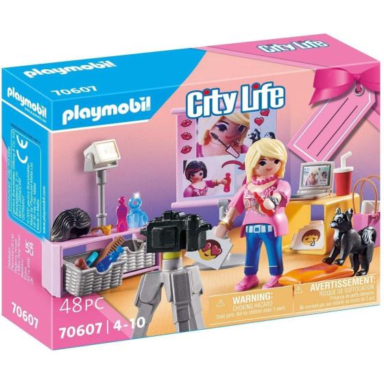 Playmobil City Life 70607 Set Regalo Influencer Playmobil - 1