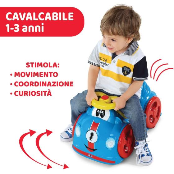 Macchina Cavalcabile All Around Boy Blu Chicco - 1