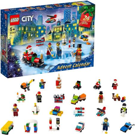 LEGO City Calendario dell'Avvento 2021 - 60303 Lego - 1