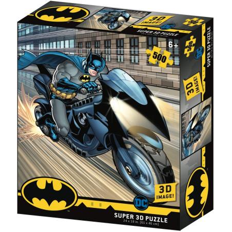 Batman Super 3D Puzzle Bat-moto Borella - 1