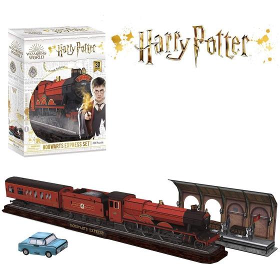 Harry Potter 3D Puzzle Set Hogwarts Express Borella - 1
