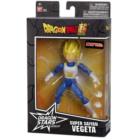 Dragon Ball Super Serie Dragon Stars - Super Saiyan Vegeta 36769 Bandai - 1