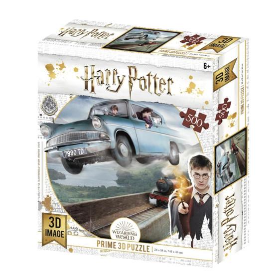 Harry Potter Prime 3D Puzzle Ford Anglia Borella - 1
