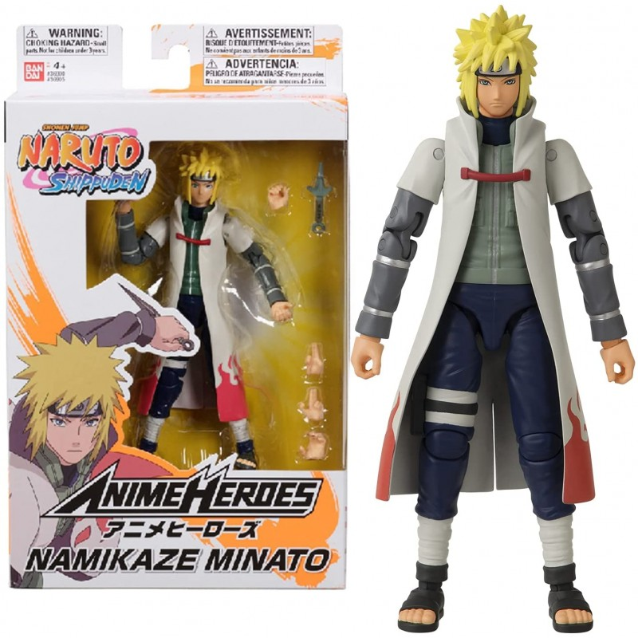 Anime Heroes Naruto Shippuden - Namikaze Minato Bandai - 1