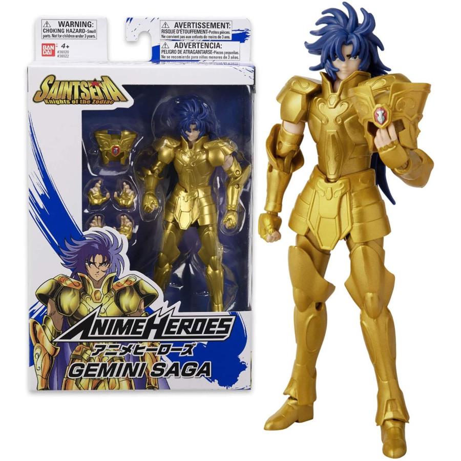 Anime Heroes Cavalieri dello Zodiaco - Gemelli Saga Bandai - 1