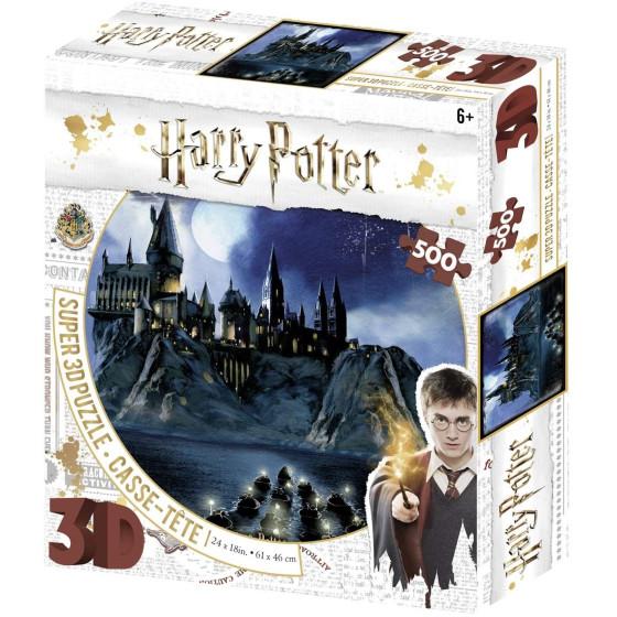 Harry Potter Super 3D Puzzle Hogwarts Borella - 1