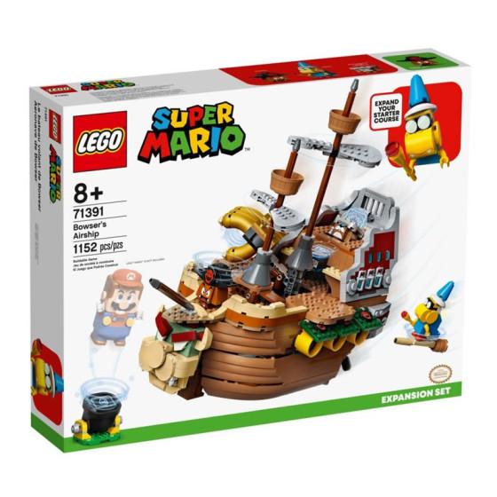 Lego Super Mario 71391 Il Veliero Volante di Bowser Lego - 1