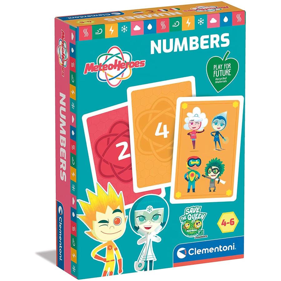 Meteo Heroes Carte e Numeri 16344 Clementoni - 1