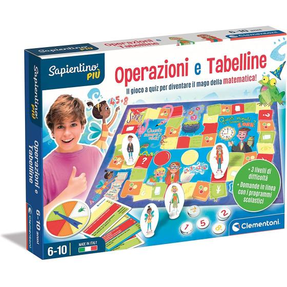 Sapientino Operazioni e Tabelline 16640 Clementoni - 1