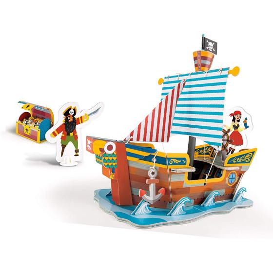 Sapientino Costruisci e Gioca: Il Galeone dei Pirati 16317 Clementoni - 2