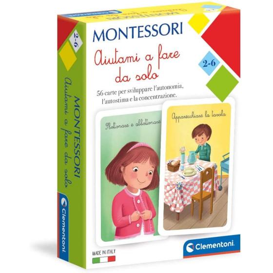 Montessori Carte Aiutami a Fare da Solo 16318 Clementoni - 1