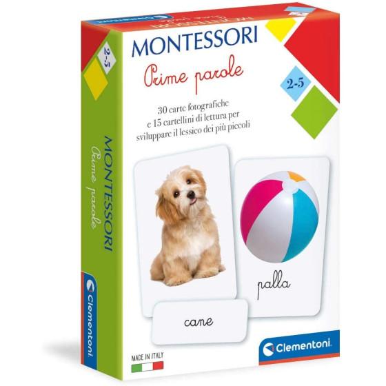 Montessori Carte Prime Parole 16319 Clementoni - 1