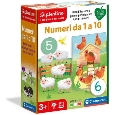 Sapientino Numeri da 1 a 10 16310 Clementoni - 1