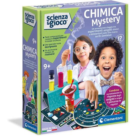 Scienza e Gioco Lab Chimica Mistery 19217 Clementoni - 1