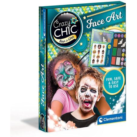 Crazy Chic Face Art 18098 Clementoni - 1