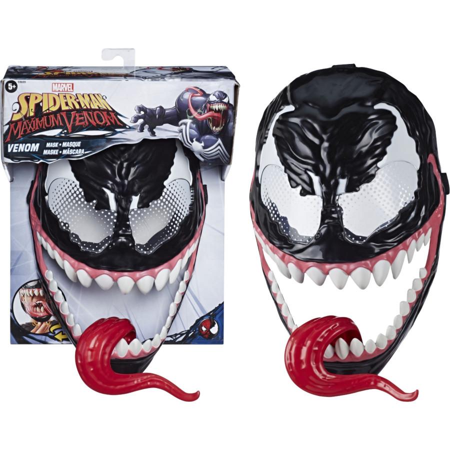 Maschera Venom Maximum Spider con Lingua Mobile Hasbro - 1