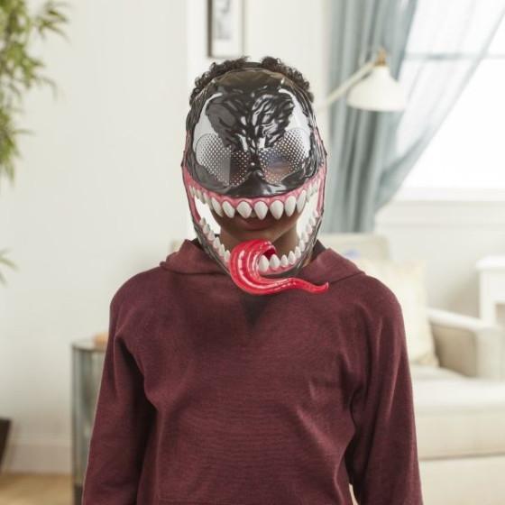 Maschera Venom Maximum Spider con Lingua Mobile Hasbro - 2