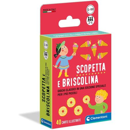 Scopetta e Briscolina Carte 16633 Clementoni - 1