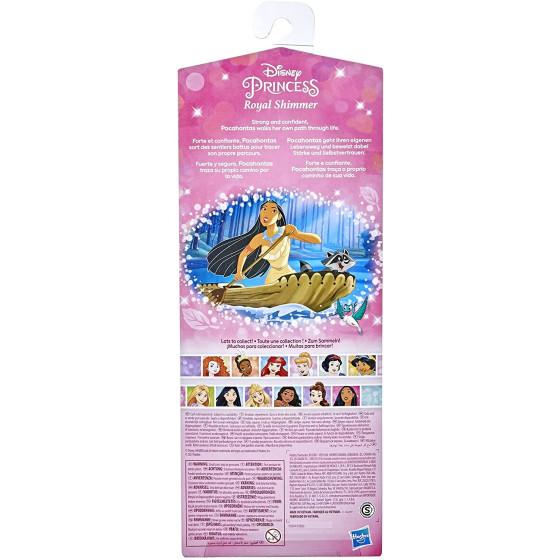 Disney Princess Pocahontas con Accessori 0904 Hasbro - 1