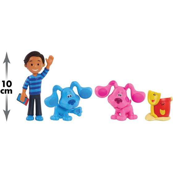 Blue's Clues & You Set 4 personaggi Giochi Preziosi - 1