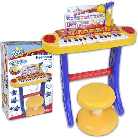 Tastiera Karaoke 31 Tasti con Microfono Bontempi - 2