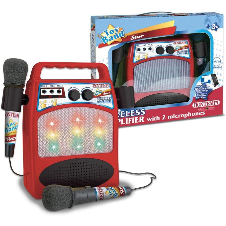 Sound box con 2 microfoni e posizione regolabile Bontempi - 3