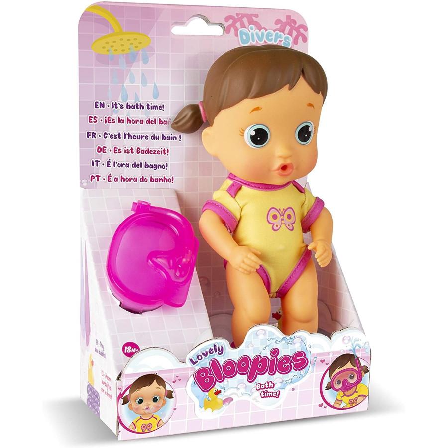 Bloopies Sirena Mermaid Bambola da Bagnetto Lovely Imc Toys - 3