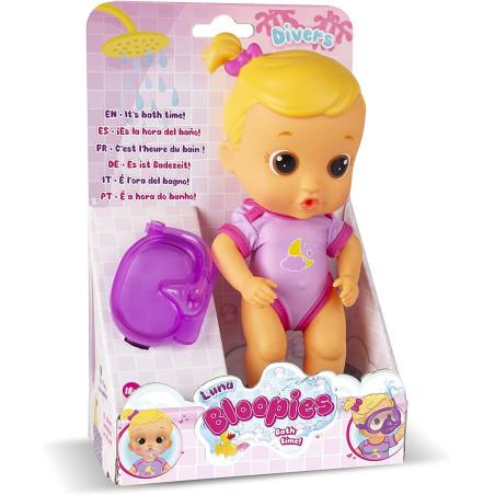 Bloopies Bambola da Bagnetto Luna Imc Toys - 5