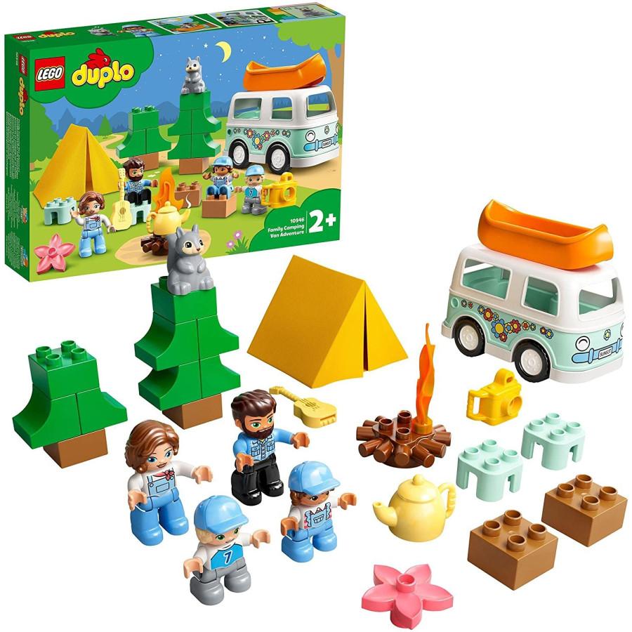 Lego Duplo 10946 Avventura in Famiglia sul Camper Lego - 1