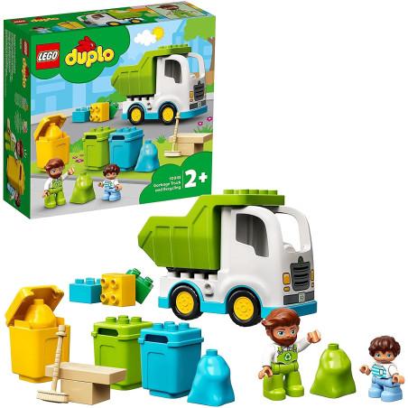 Lego Duplo 10945 Camion della Spazzatura e Riciclaggio Lego - 1