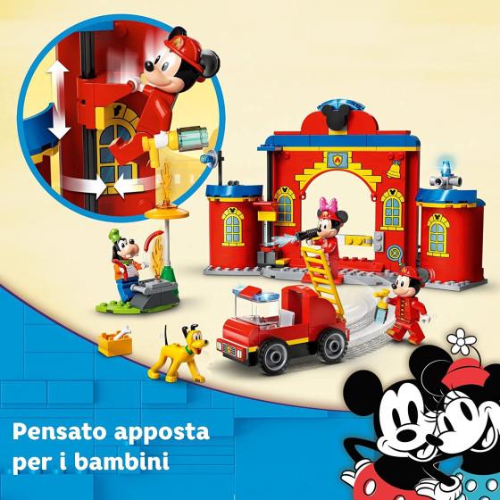 Lego Disney 10776 Caserma dei Pompieri di Topolino Lego - 1