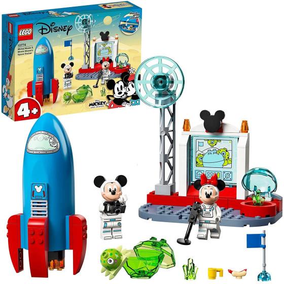 Lego Disney 10774 Razzo Spaziale di Topolino e Minnie Lego - 1