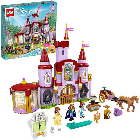 Lego Disney Princess 43196 Castello di Belle e della Bestia Lego - 1