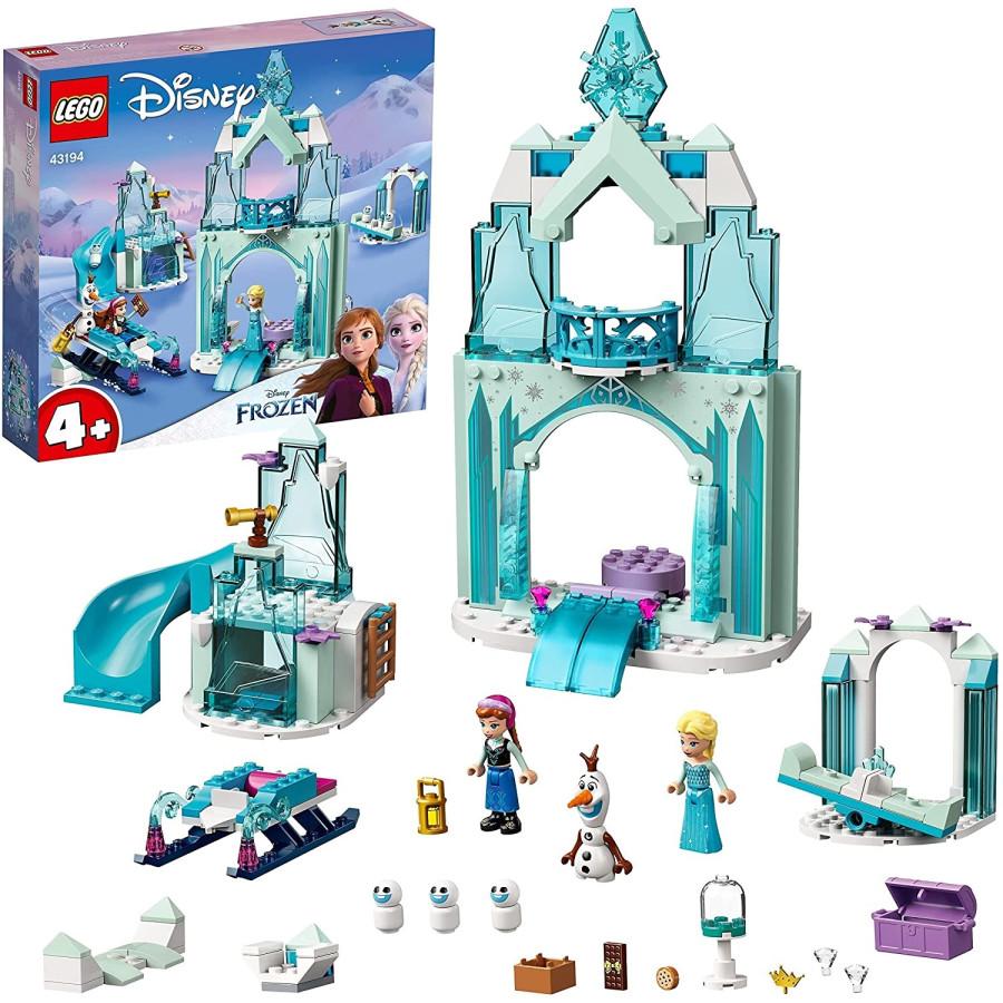 Lego Disney Princess 43194 Castello Ghiacciato di Anna ed Elsa Lego - 1