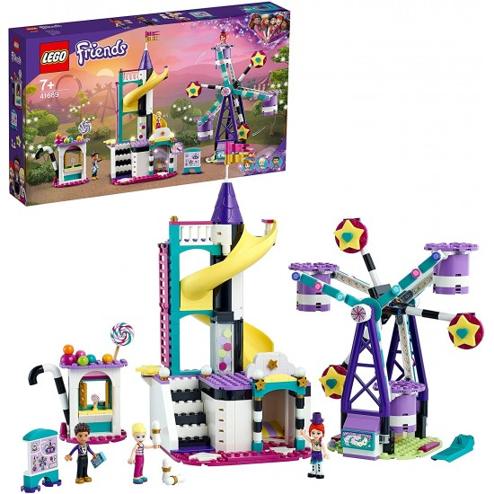 Lego Friends 41689 Ruota Panoramica e Scivolo Magici Lego - 1