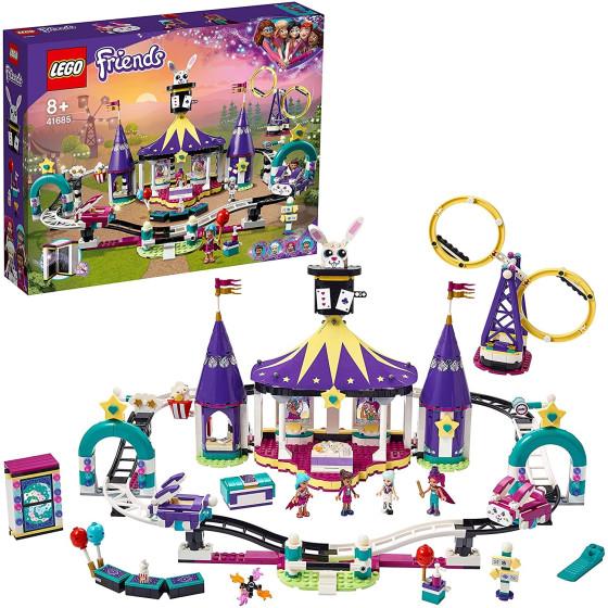 Lego Friends 41685 Montagne Russe del Luna Park Magico Lego - 1