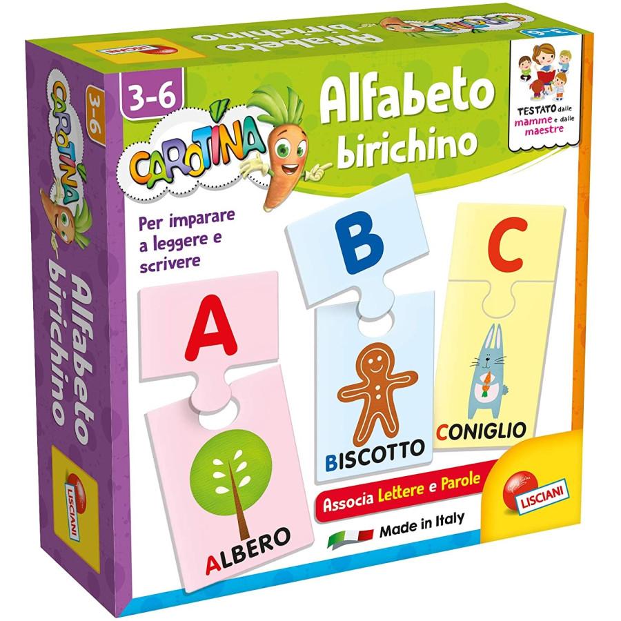 Carotina Alfabeto Memo Birichino Lisciani - 4
