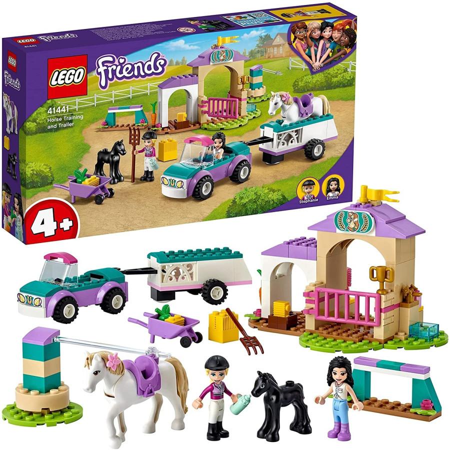 Lego Friends 41441 Addestramento Equestre e Rimorchio Lego - 1