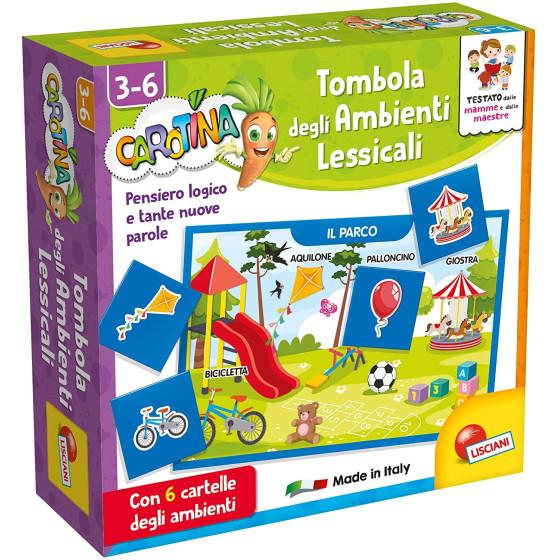 Carotina Tombola Ambienti Lessicali Lisciani - 1
