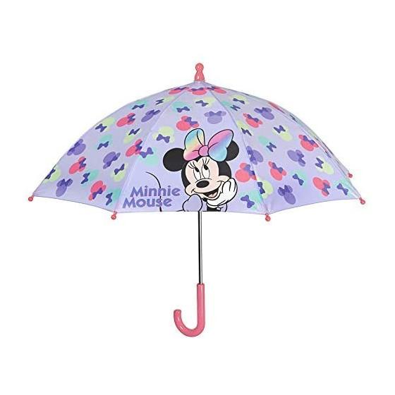 Ombrello Bambine Minnie Mouse Perletti - 1
