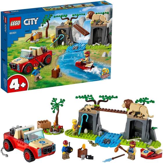 Lego City 60301 Fuoristrada di Soccorso Animale Lego - 1