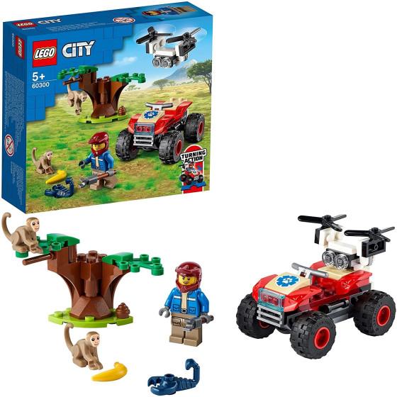 Lego City 60300 ATV di Soccorso Animale Lego - 1