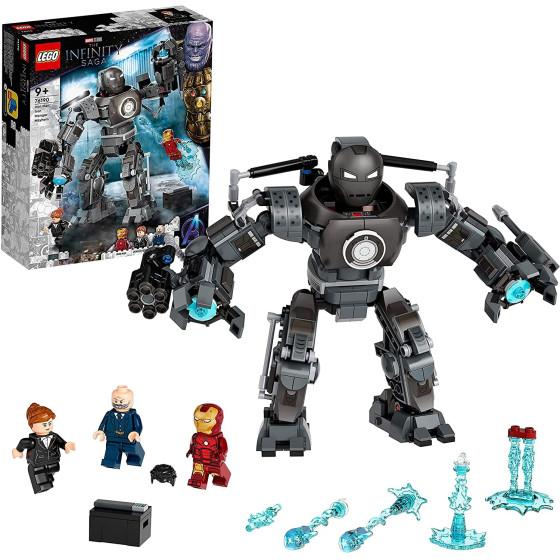 Lego Infinity Saga 76190 Iron Man: Iron Monger Scatena il Caos Lego - 1
