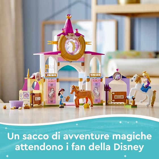 Lego Disney Princess 43195 Scuderie Reali di Belle e Rapunzel Lego - 1