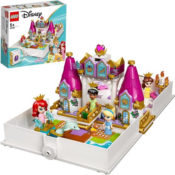 Lego Disney Princess 43193 Avventura Fiabesca di Ariel, Belle, Cenerentola e Tiana Lego - 2