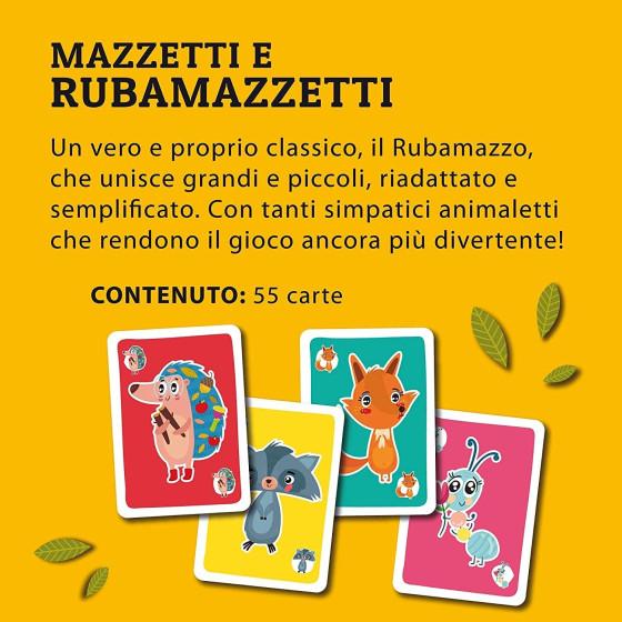 Ludoteca Le Carte Dei Bambini Mazzetti e Rubamazzetti 85804 Lisciani - 4