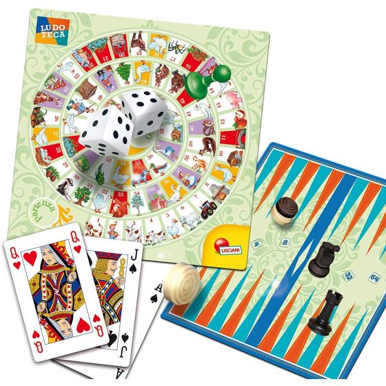 Ludoteca Più di 100 Giochi Riuniti Edizione Speciale Deluxe 68791 Lisciani - 3