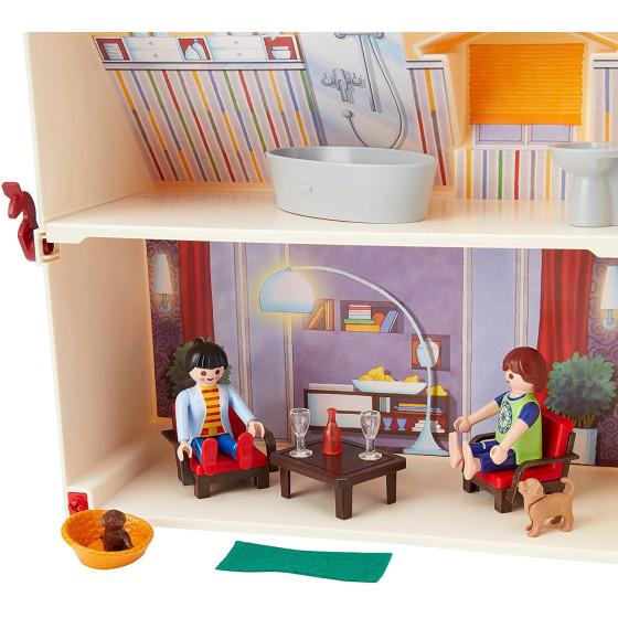 Playmobil Casa Delle Bambole Portatile 5167 Playmobil - 6